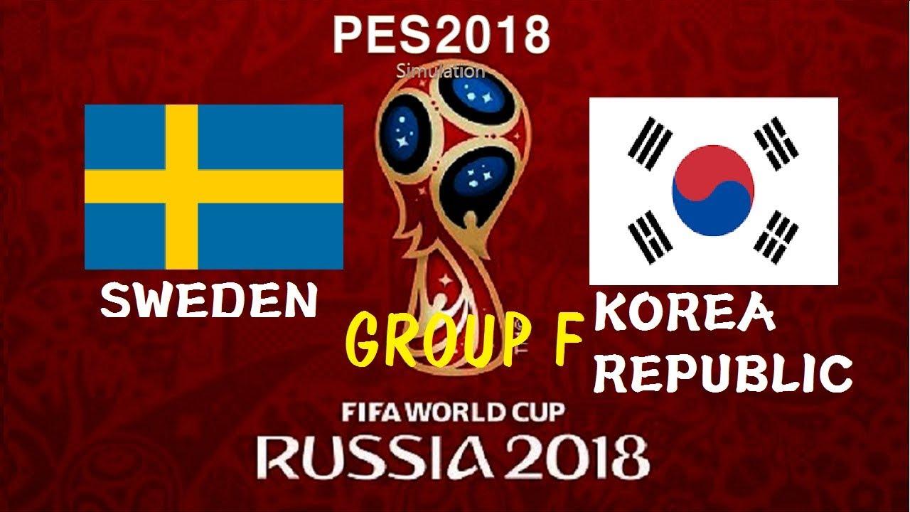 كأس العالم 2018 .... بث مباشر مباراة السويد وكوريا الجنوبية « المجموعة السادسة »