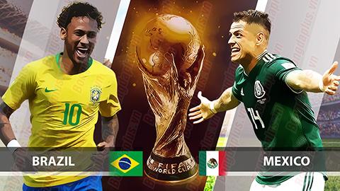 كأس العالم 2018.. التشكيل الرسمى لمباراة البرازيل والمكسيك