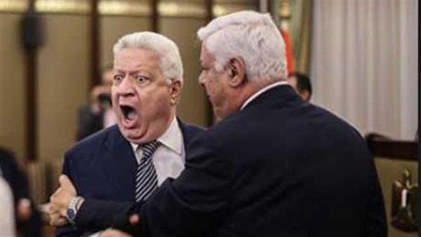 بسبب الشعار .. مرتضى منصور يفتح النار على الآهلي